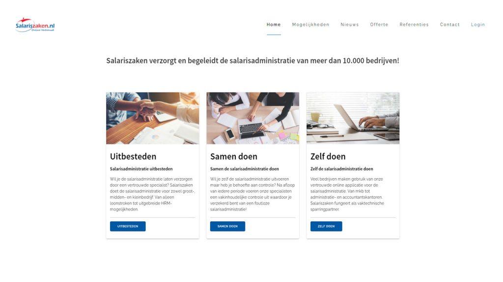 Salariszaken website